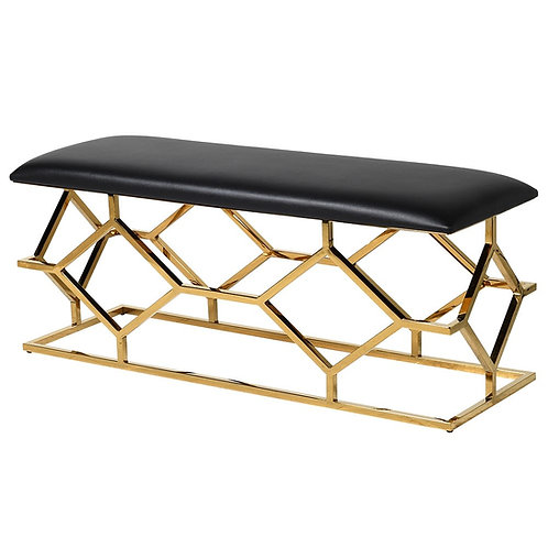 Black and Gold Bench