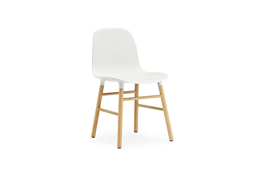Form Chair Oak White