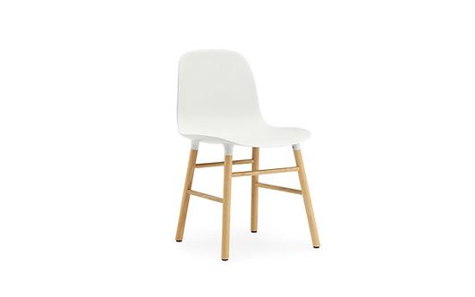 Form Chair Oak White