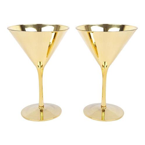 SUNNYLIFE - COCKTAIL MARTINI GLASSES   MONTEVERDE