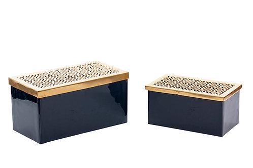 SET 2 METAL BOXES