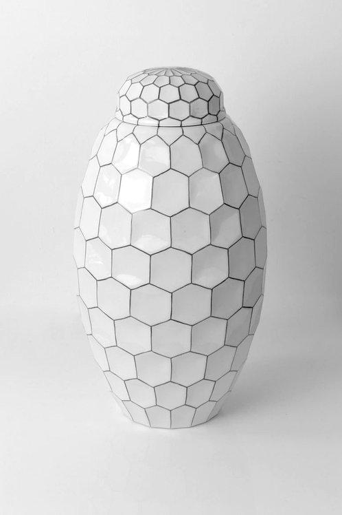 Large Porcelain Ginger Jar