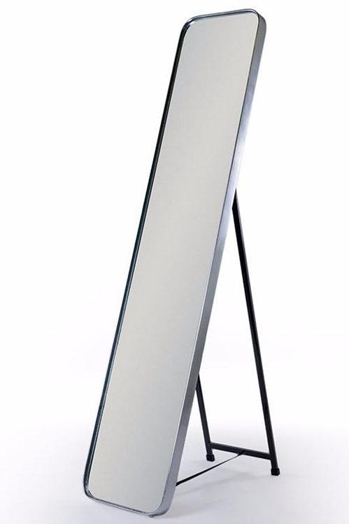 Silver Framed Cheval Dressing Mirror