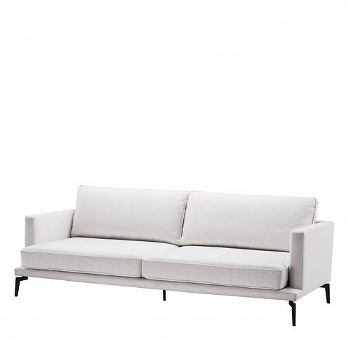 SOFA AVENUE 54 - Avalon white | gunmetal base