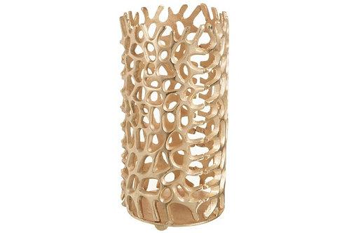 Candle Holder Coral Cylinder