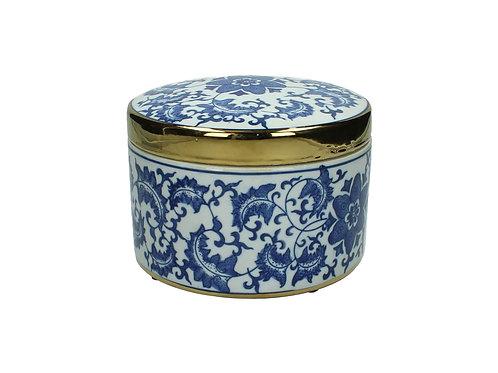 Jar Ceramic Blue