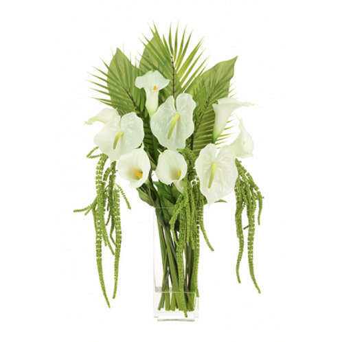 Large Anthurium & Calla Arrangement