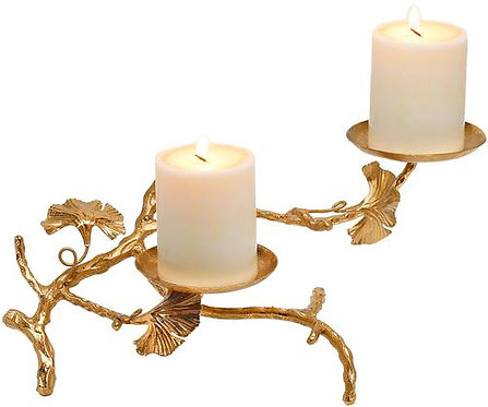 Abbey Candle Holder Double