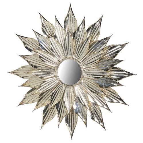 Sun Flower Gold Mirror