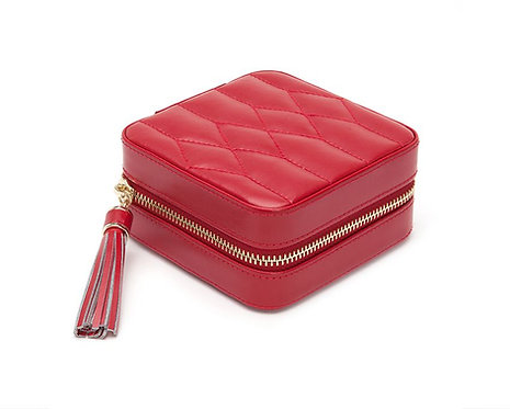 CAROLINE ZIP TRAVEL CASE - RED