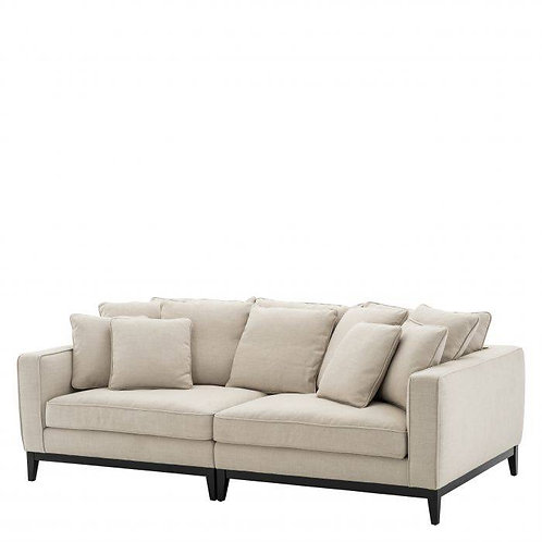 SOFA PRINCIPE - Panama natural | black base