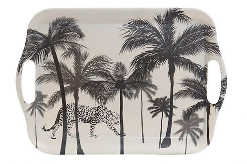 TRAY WITH PALM TREES