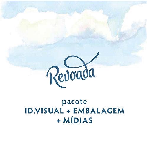 Pacote Id.Vis + Mídias + embalagem
