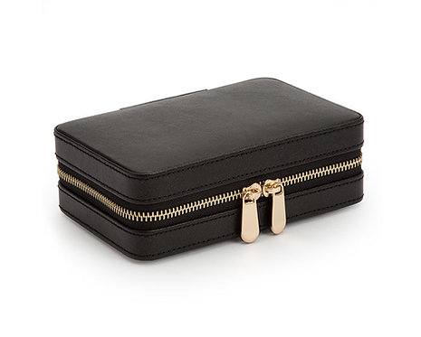 PALERMO ZIP CASE - BLACK ANTHRACITE