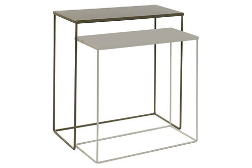 CONSOLE TABLE SET OF 2