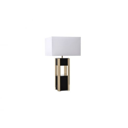 Table Lamp in Black Shade
