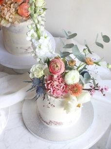 Floral cake (~10 serv.)
