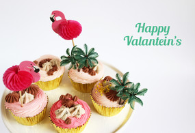 Tropical Valentine's Day