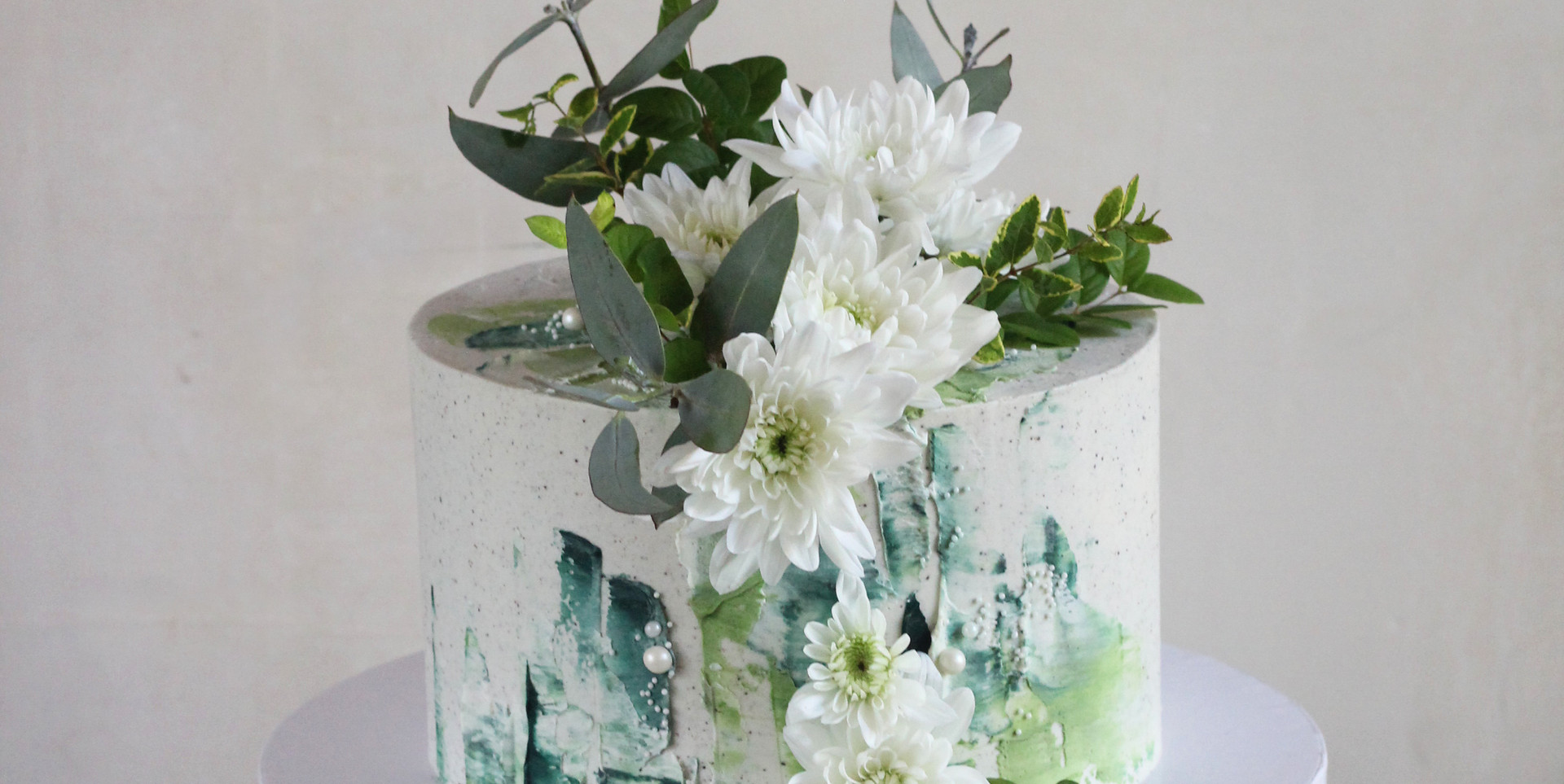 Brush strokes & florals