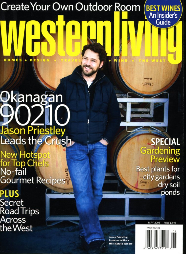 western living cover