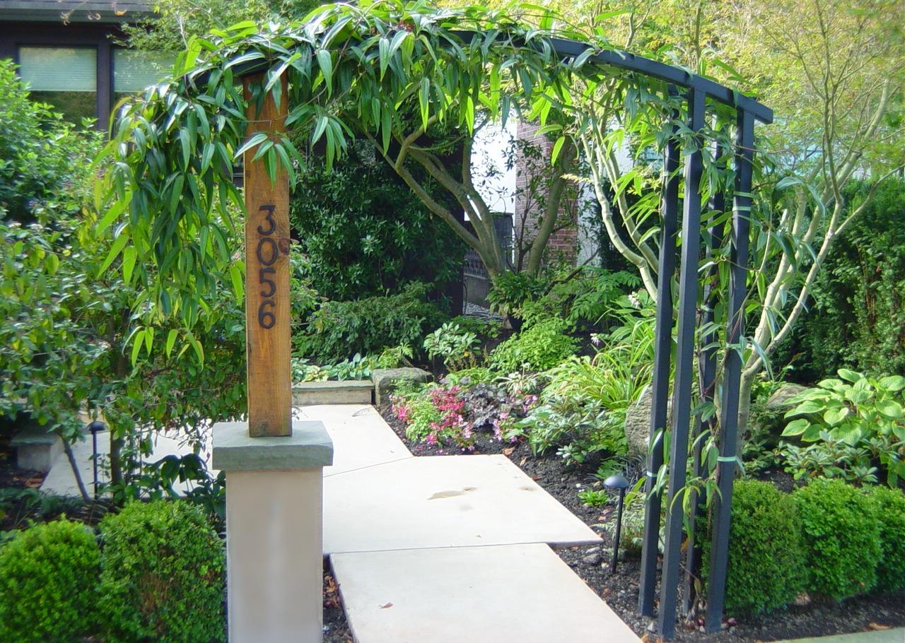 entrance arbor