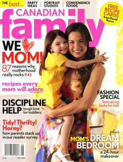 canadian family cover