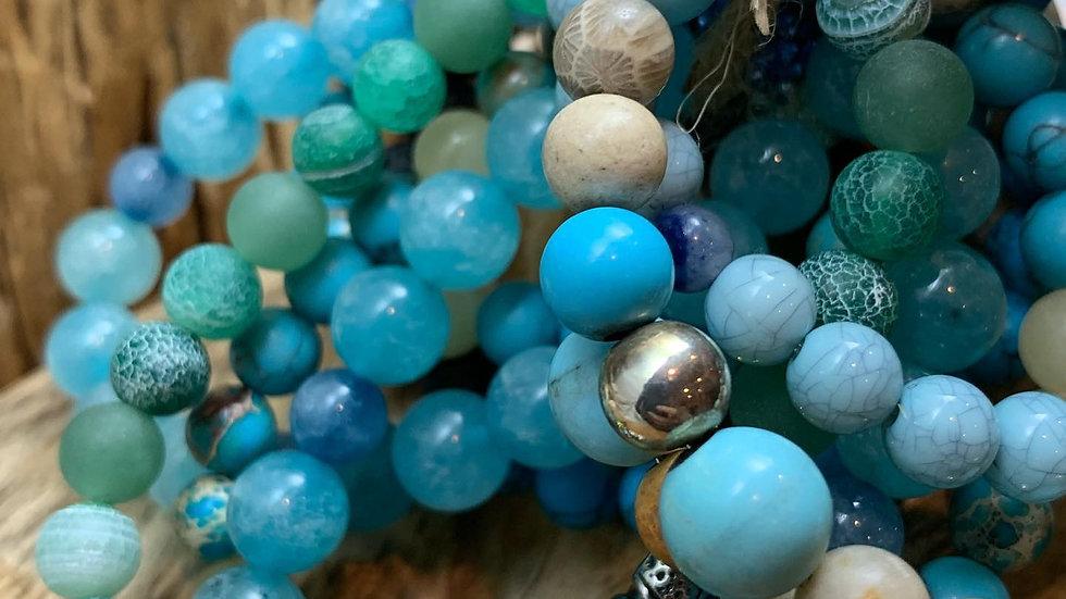 Ocean Vibes bracelet set