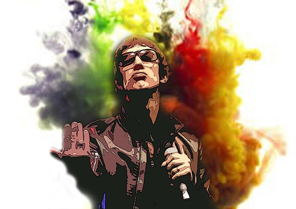 A4 Richard Ashcroft Canvas Print