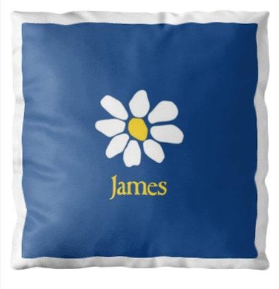James Cushion Cover