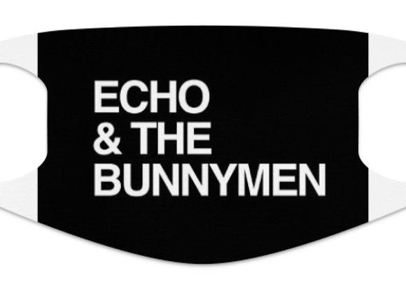 Echo & The Bunnymen Face Mask