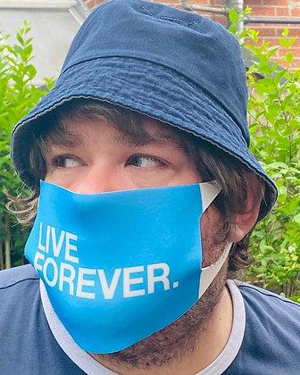 Live Forever Face Mask