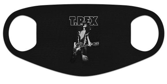 T Rex Black Face Mask
