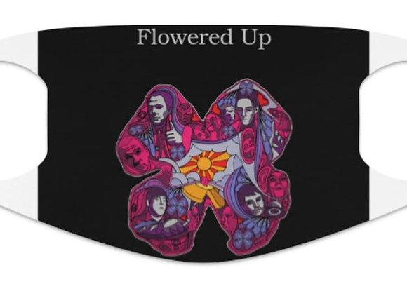 Flowered Up Face Mask