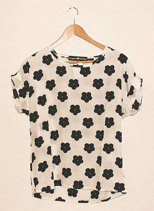 60s MARY QUANT FLOWER TOP