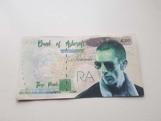 Richard Ashcroft Bank Note