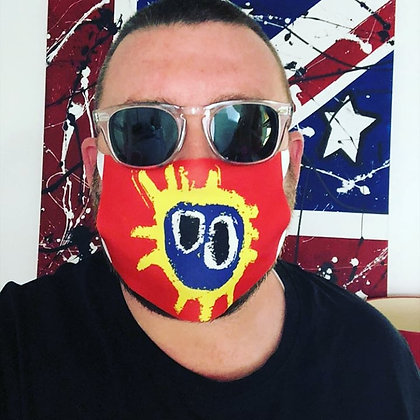 Screamadelica Face Mask