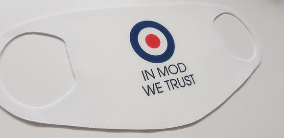 In Mod We Trust Face Mask