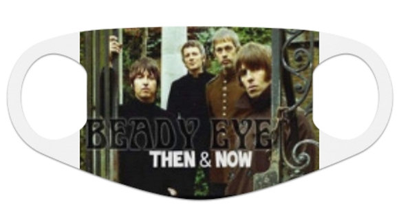 Beady Eye Then & Now Face Mask