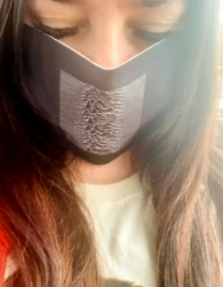 Unknown Pleasures Face Mask