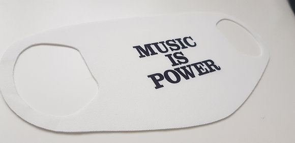 Music is Power Face Mask