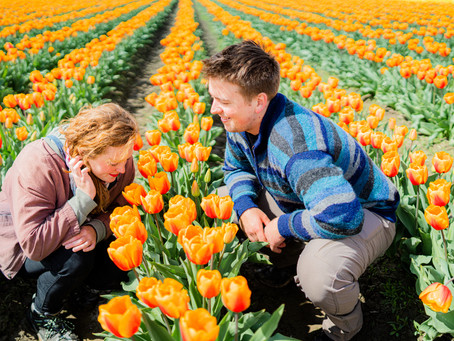 { Alex & Stig } Tulip Town | Seattle, WA