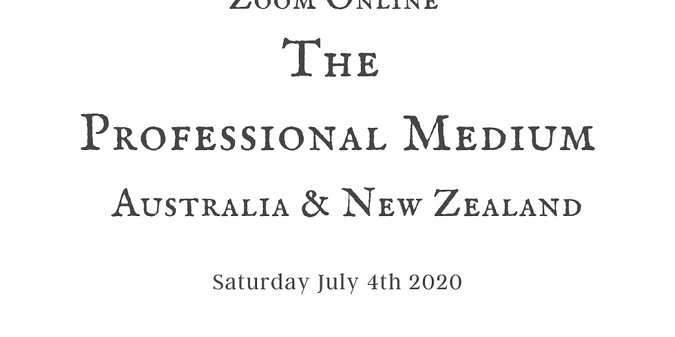 Professional Medium Workshop Oz & NZ Online