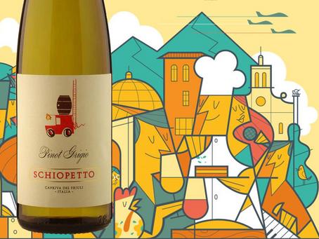 【Schiopetto, Pinot Grigio 2019】- Post 107