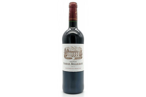 Chateau Barrail Bellegrave, Saint-Emilion Grand Cru 2015