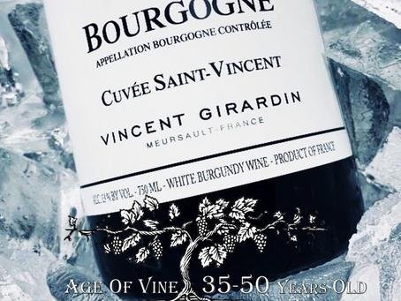 【Vincent Girardin, Bourgogne Blanc Cuvée St Vincent 2017】- Post 108