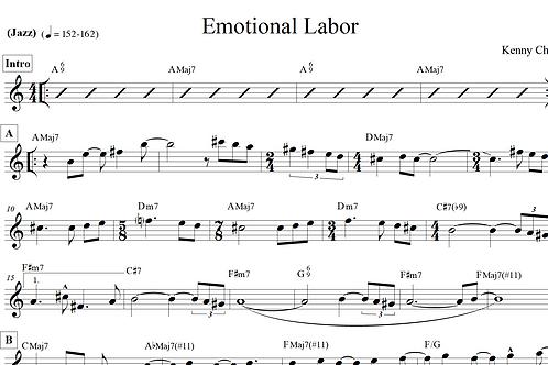 Kenny Cha - Emotional Labor (Lead Sheet)