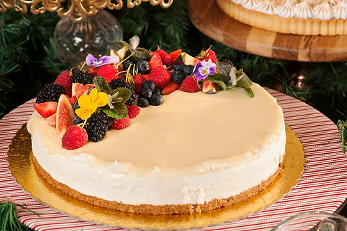 Torta Mousse de Chocolate branco - 16 fatias