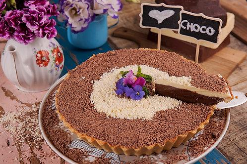 Torta de 3 Chocolates - 16 fatias