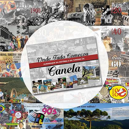 Livro: Almanaque da história e do turismo de Canela