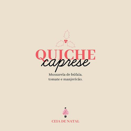 Quiche Caprese - 12 fatias